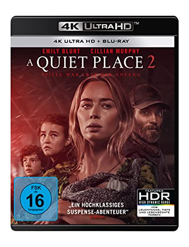 Produktbild von A Quiet Place 2 (4K Ultra HD) (+ Blu-ray 2D)