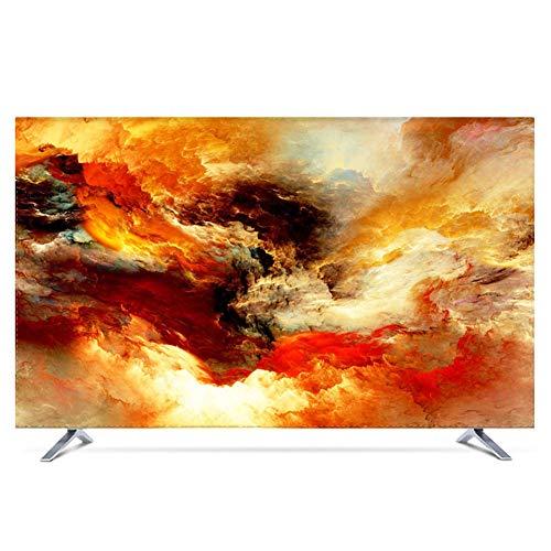 YXZN TV Staubabdeckungen LCD Hängedeckelfernseher Universal Soft Thick Waterproof Sunscreen Protect Screen,color1,43