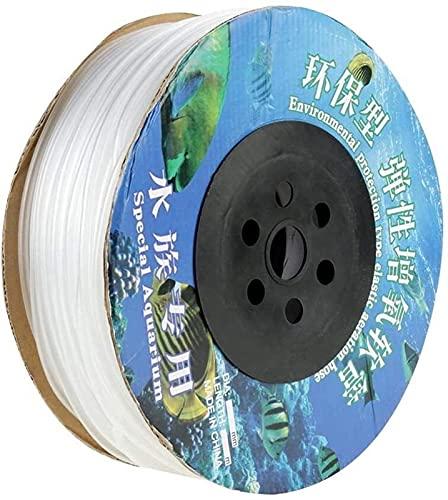 Kettles Tubes de Conduite d'air PVC de 100 m pour l'aquarium pour la Pompe à air du réservoir de Poisson pour Les Plantes Aquatiques de l'aquarium de Poisson pour Ajuster Le Niveau de CO2