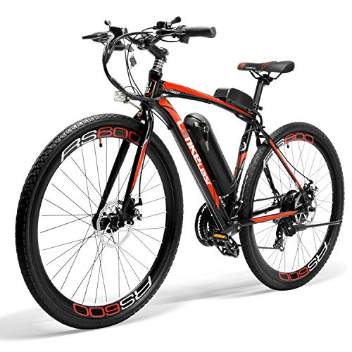 Brogtorl Bicicleta eléctrica LANKELEISI RS600, motor 300W, batería Samsung 36V 20Ah, marco...