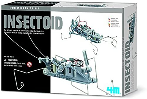a la venta 4M 4M 4M Insectoid Robot Science Kit by 4M  mejor calidad