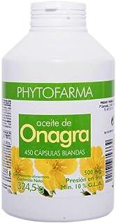 Phytofarma Onagra con Vitamina E 450 Perlas - 324.5 gr