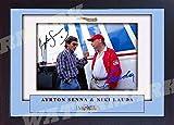 SGH SERVICES Autogramm von Ayrton Senna Niki Lauda,