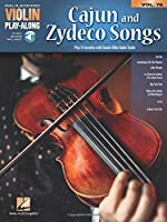Cajun and Zydeco Songs (Hal Leonard Violin Play-along)