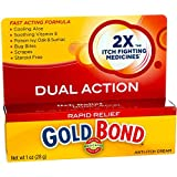 Gold Bond Rapid Relief Anti-Itch Cream 1 oz ( Pack of 2)