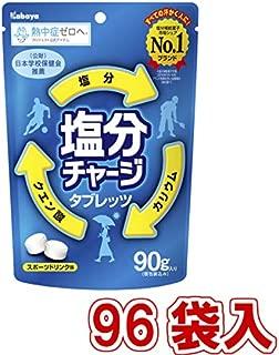 カバヤ 塩分チャージタブレッツ (48袋入×2ケース)96入