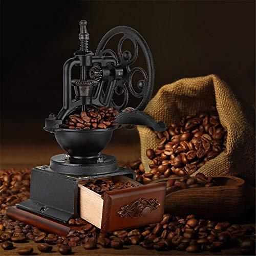 Manual Molinillo de café Cajón de Madera de la Vendimia de