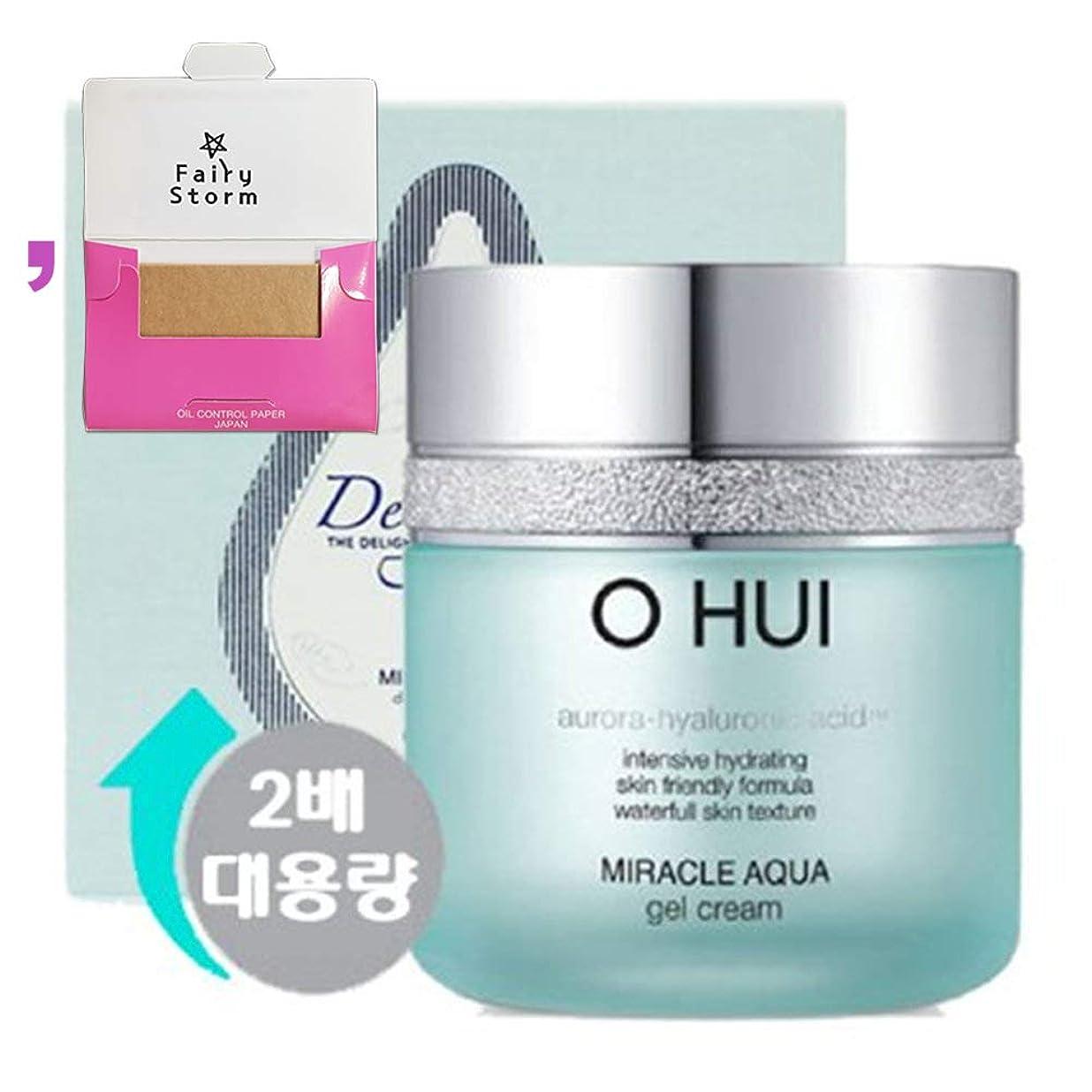 オフェンスアクティビティダウン[オフィ/O HUI]韓国化粧品LG生活健康/Miracle Aqua Gel Cream Special Set/ミラクルアクアゲルクリーム100mlの大容量企画セット+[Sample Gift](海外直送品)