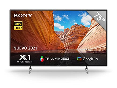 Sony | X79J | 75X79J | BRAVIA | 4K Ultra HD | Alto Rango dinámico (HDR) | Smart TV (Google TV) | 2021 Model | 75X79J