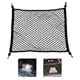 Cargo Net for Pickup Truck Bed, Tailgate Net Truck Bed Extender, Premium Truck Bed Net, Trunk Organizers and Storage, Made of Heavy Duty Nylon Net (23.6x31.5 Inch, Black)