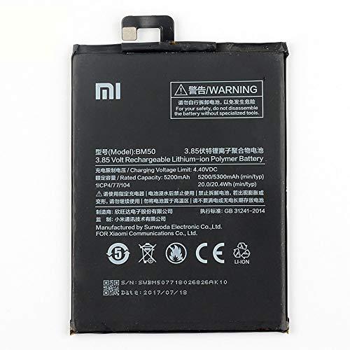 Interner Akku BM50, 5300 mAh, kompatibel mit Xiaomi Mi Max 2