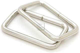 CRAFTMEmore Metal Rectangle Buckle Ring Fits 1-1/4