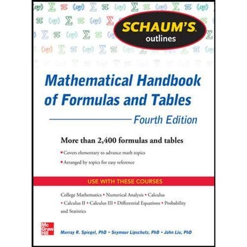 Mathematics Formula: Amazon com