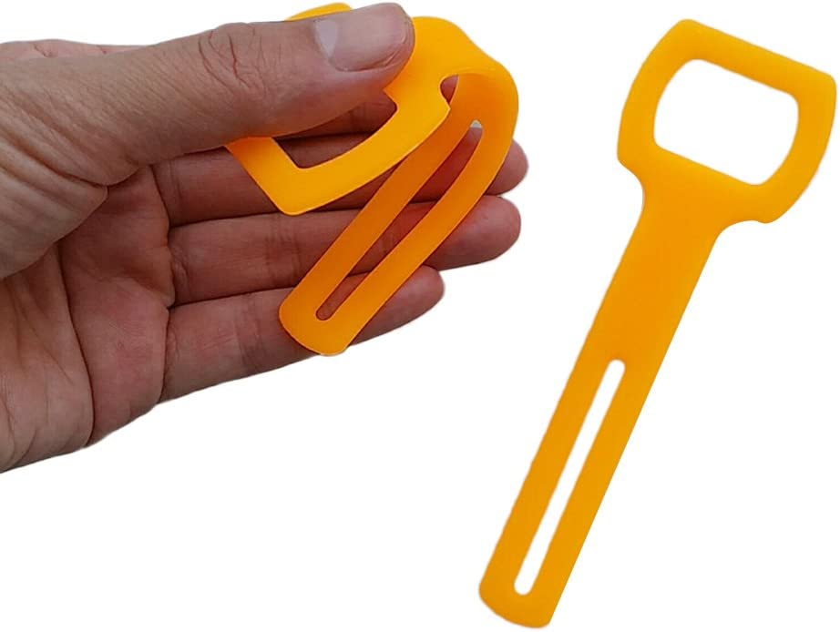 simhoa 2X Soft Silicone Octo Holder Straps for Scuba 2nd Stage Octopus Regulator