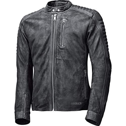 Held – Chaqueta Combi de piel para moto Pako – Chaqueta de piel para hombre, chopper/cruiser, todo el año Negro 54