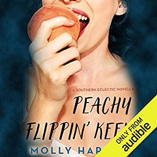 Peachy Flippin' Keen audiobook cover art