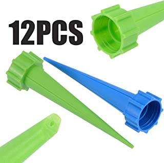 ReeeR 12pcs Automatic Watering Irrigation Spike Kits System Garden Plant Flower Drip Sprinkler for Energy Saving Plant Watering Tools