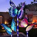 LED Luces Solar exterior Mariposa Impermeables Luz,MMTX 3…