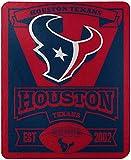 NFL Houston Texans 'Marque' Fleece Throw Blanket, 50' x 60'