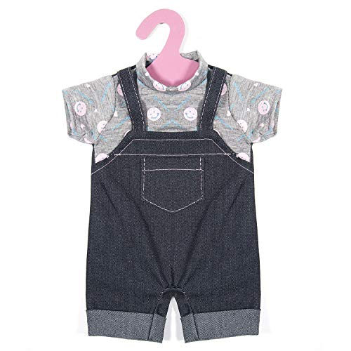 ZOEON Puppenkleidung für New Born Baby Doll, Outfits 17-18