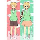 Vocaloid Kagamine Rin Anime Dakimakura Pillow Cover Bedding Pillowcases 16'x47' B238