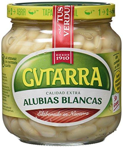 Gvtarra Alubia Blanca Cocida Legumbre - Paquete de 6 x 400 gr - Total: 2400 gr