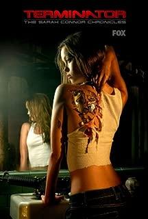 Terminator: The Sarah Connor Chronicles Poster TV E 27x40 Summer Glau Lena Headey Thomas Dekker