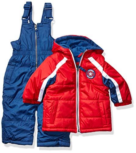 iXtreme Baby Boys Snowsuit, Red, 12M