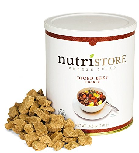 Nutristore Freeze Dried Beef Dices