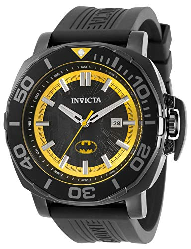 Invicta DC Comics - Batman 35079 Reloj para Hombre Cuarzo - 48mm