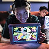 MISHTI Glow Pad - Portable Hi-Tech Drawing Board for Kids Toy Tablet-Size with 7 Interchanging...