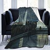Blanket Throws,Sofa Blanket,Bed Blanket,Bed Throws Blanket Washington DC Under Moonlight Throw Blanket Blanket,127CM X 102CM