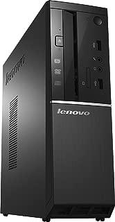 Lenovo Slimline 300s High Performance Desktop PC, Intel Core i5-4460 Quad-Core 3.2GHz, 8GB RAM, 1TB 7200RPM HDD, DVD+/-RW, HDMI, WIFI, Bluetooth, VGA, Windows 10, Black