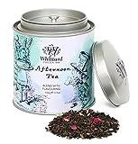 Mezcla Whittard de té negro, verde y oolong con pétalos de rosa y aciano de hojas sueltas - 1 x 100 gramos