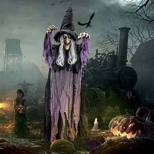 Décoration de sorcière animée à ...