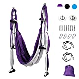 CO-Z Aerial Yoga Swing Sling Strong Yoga Hammock Kit Set Trapeze...