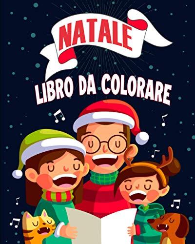 Natale Libro da Colorare: Libri da colorare natale | 60 Splendide illustrazioni per bimbi da 3 a 8 anni | Regalo di natale
