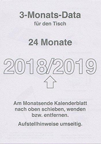 3-Monatskalender Ersatzeinlagen