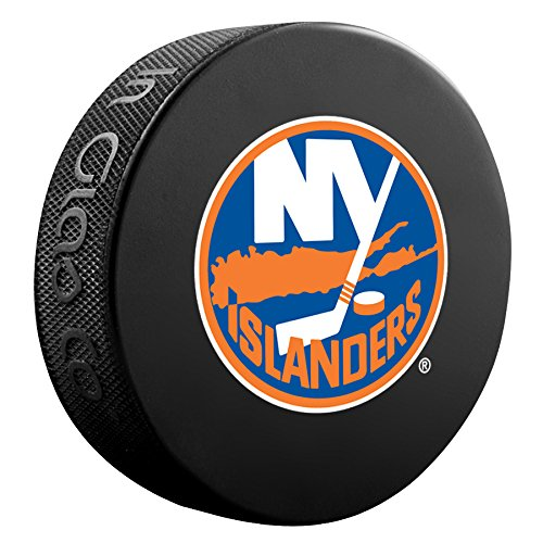 New York Islanders FC Basic Sammler Offizielles NHL Hockey Spiel Puck