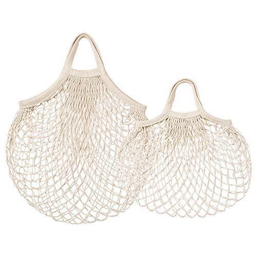 Ikea KUNGSFORS Net Bag, Set of 2, Natural