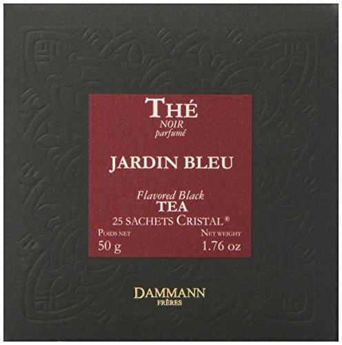 DAMMANN FRERES Jardin Bleu Tea Sachets, 25 count