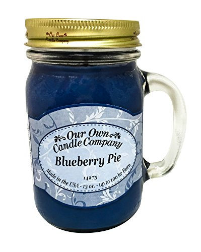 Our Own Candle Company Blueberry Pie Scented 13 oz...