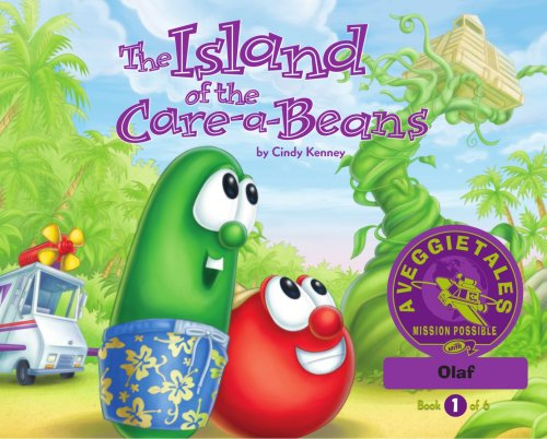 The Island of the Care-a-Beans - VeggieTales Mission Possible Adventure Series #1: Personalized for Olaf (Boy)