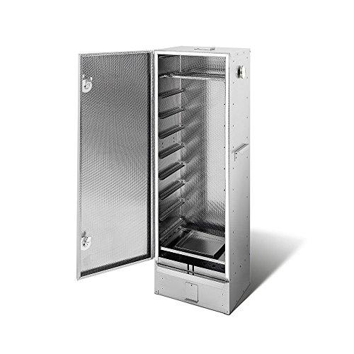 Smoki - Forno affumicatore in acciaio inossidabile V2A, 120 x 39 x 33 cm