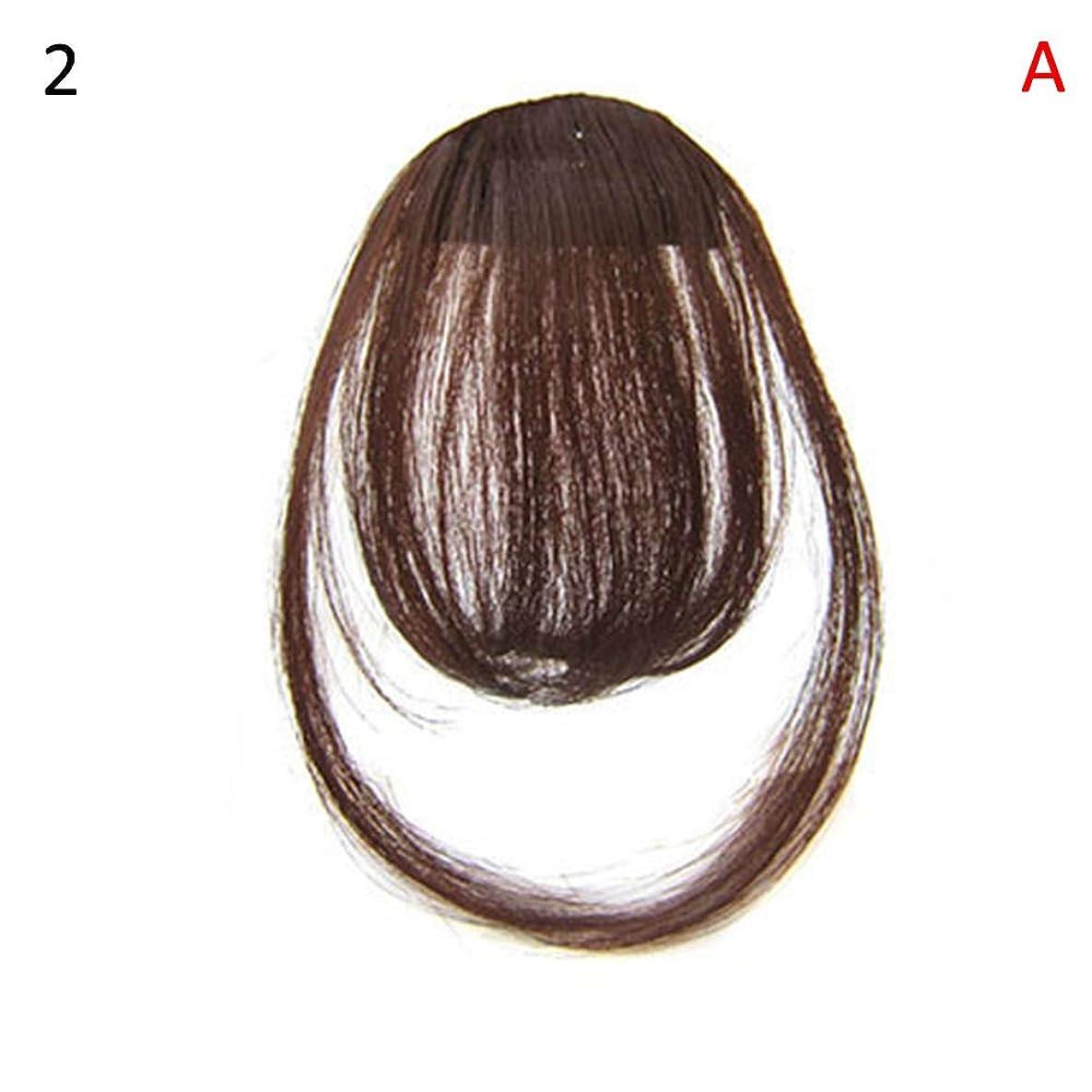 スタンドクラシカルブリーフケースslQinjiansav女性ウィッグ修理ツールファッションレディース薄いクリップオンエアバンフロントフリンジウィッグヘアエクステンションヘアピース
