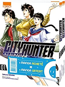 City Hunter Rebirth Pack offre découverte Tomes 1 & 2