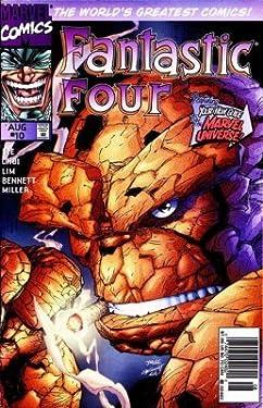 "Fantastic Four #10 ""Inhumans, Doctor Doom, Maximus & Galactus Appearance"""