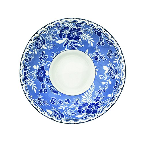 Johnson Brothers Devon Cottage - Plato de té (14,5 cm), color azul y blanco