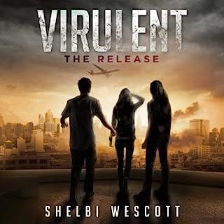 Virulent audiobook cover art