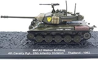 ALTAYA M41 A3 Walker Bulldog Light Tank 1962 Year 1/72 Scale Collectible Diecast Model